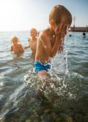 """<img src=""""children swimming.jpg"""" alt=""""how to reduce obesity in children""""/>"""
