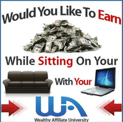 Making Money On-line - Wealthy Affiliate is no 1. 1