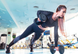 "<img src = ""woman doing dumbbell press ups.img"" alt = ""best strength training workouts""/>"